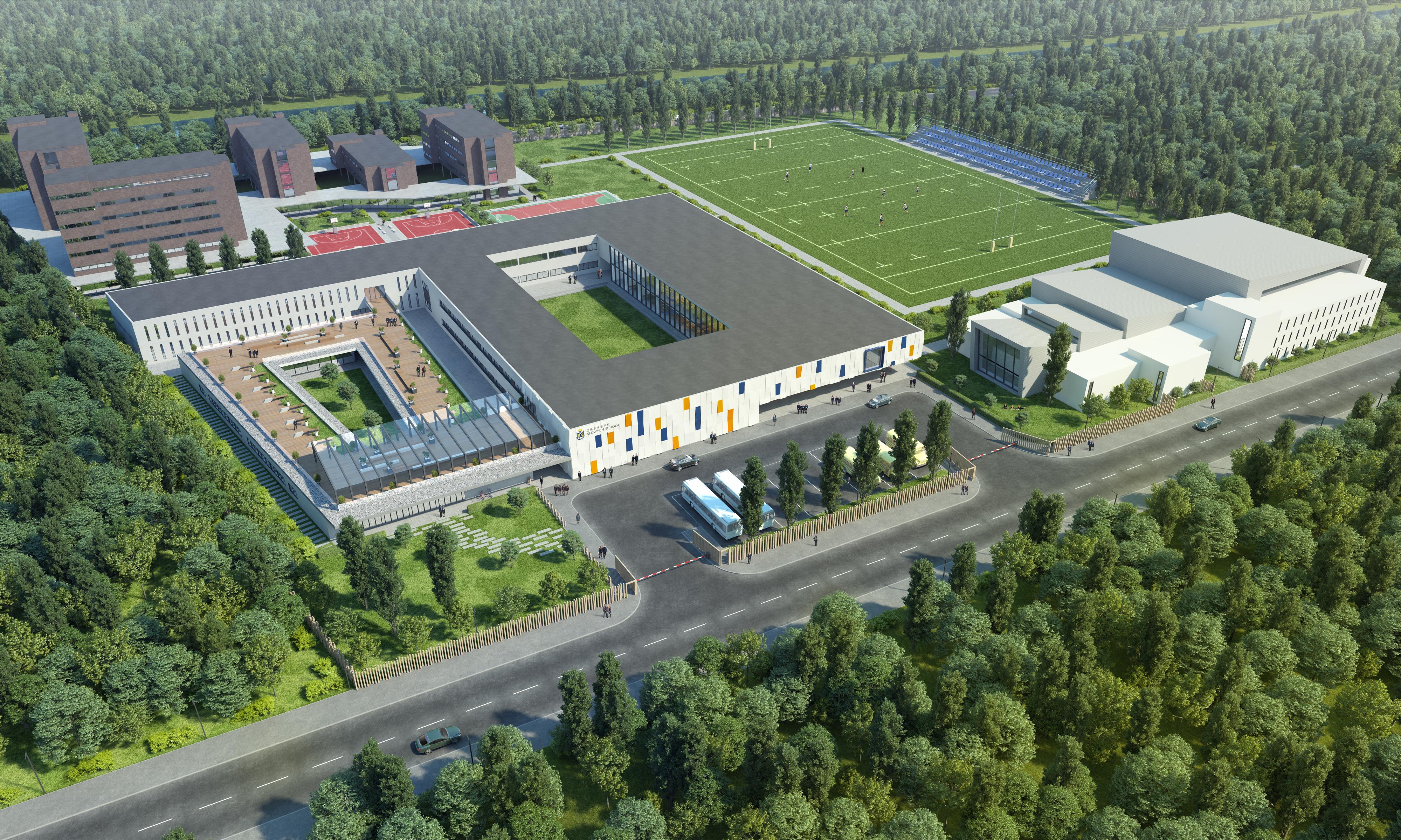 Aldwych school 3d visualization